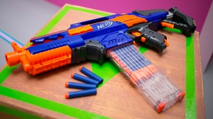 Cheaper bullets available online are harder than standard Nerf gun ones.
