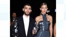 Zayn Malik and Gigi Hadid attending the MET Gala 2016 costume Institute Benefit at The Met