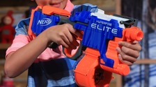 Nerf guns: Doctors warn over dangers of eye injuries