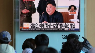 North Korea will feature significantly in Mr Trump's address.