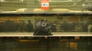Solitary handbag