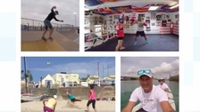 Sports mad... for charity! One man's 100-day challenge