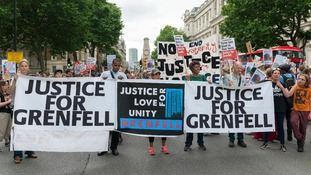 Justice for Grenfell campaigners