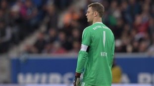 Bayern Munich's Neuer ruled out until 2018 with broken foot