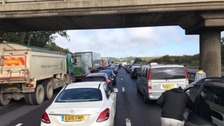 Thousands of motorists stuck on M1 after police investigate 'suspicious package'