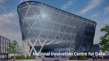 Artist's impression  of the NICD building