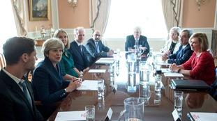 Theresa May round table