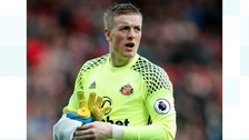 Jordan Pickford in March 2017.