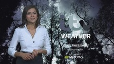 Weather: Cloud with sunny spells