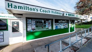 Hamilton's Coach Holidays cancelled the trip days before it was due to leave.