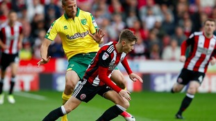 Norwich held on for a 1-0 win at Bramall Lane