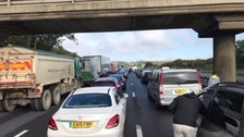 The M1 remains closed in both directions