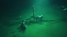 Divers find perfectly preserved shipwrecks