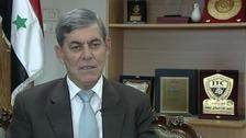 Syrian Olympic Committee President General Mowaffak Joumaa