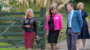 Countess of Wessex opens new unit at Cornwall farm community
