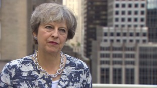 Theresa May says Cabinet - including Boris Johnson - is 'absolutely united' on Brexit
