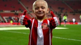 Sunderland manager speaks of 'fantastic little hero' Bradley Lowery