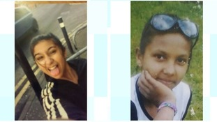 Concern for missing girls, aged 13 and 15