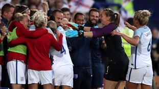 England women hit Russia for six and deliver public endorsement to Sampson