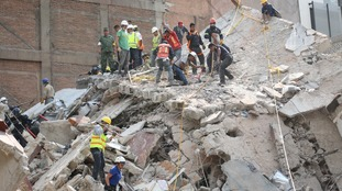 More than 100 killed in powerful Mexico earthquake