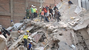 Dozens are still missing and may be trapped under rubble.