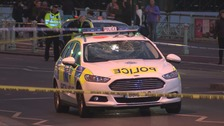 Man hit by police car responding to emergency call