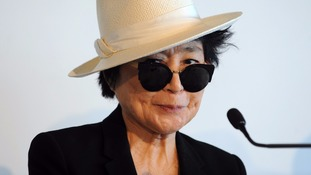 Yoko Ono is suing a small East London start-up