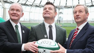 Irish rugby chiefs are looking to grow the game in the United States by hosting the 2023 World Cup