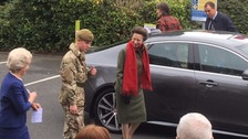 Princess arrives at the University of Cumbria