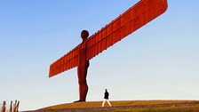 The Angel of the North was completed in 1998