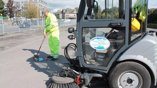 Clean-up underway at New Road common land