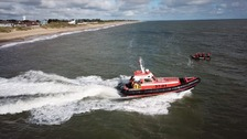Lifeboat testing drones to help with rescue work