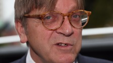 Verhofstadt: UK must find solution to Irish border