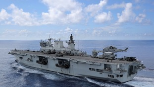 HMS Ocean heading to deliver crucial aid to Britons in Caribbean