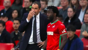 Swansea boss: Bony is 'nearly up to speed'
