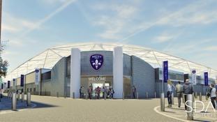 Wakefield Community Stadium artist impression