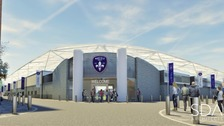 Plans for new Stadium at Belle Vue for Wakefield Trinity