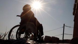Diasabled person
