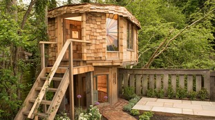 Britain's Shed of the Year is 'mushroom house' in Surrey