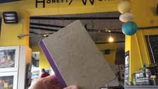 'Honesty cafe' sketchbook returned after robbery plea