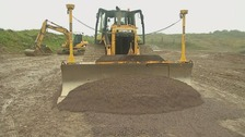 Construction of Lake Torrent race track begins