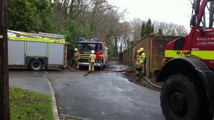 Lytchett Minster School fire