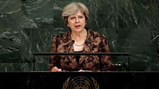 Theresa May said the United Nations must reform or risk losing public support.