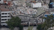 Desperate search for Mexico earthquake survivors