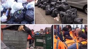 Birmingham bin workers started industrial action in June