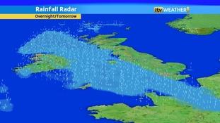 More rain is forecast tonight