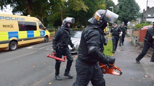 The North West Regional organised crime unit (TITAN) carrying out raids in Wirral