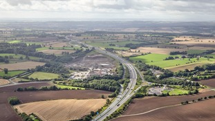 Drivers will be able to use the six mile section between Leeming and Catterick