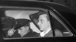 Ian Brady while in police custody