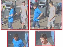 Officers renewing appeal for two men who robbed and threatened teenagers with acid